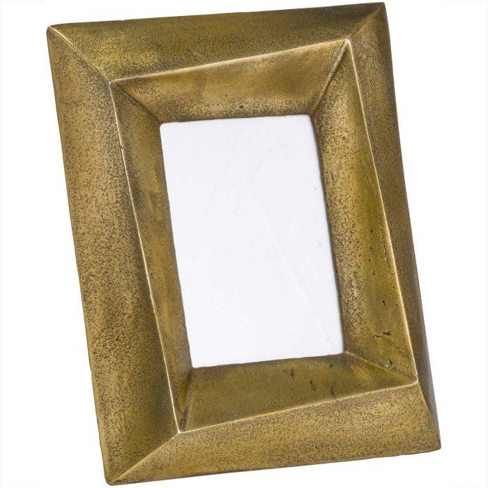 Ohlson Antique Brass Photo Frame 4x6 - Cosy Home Interiors