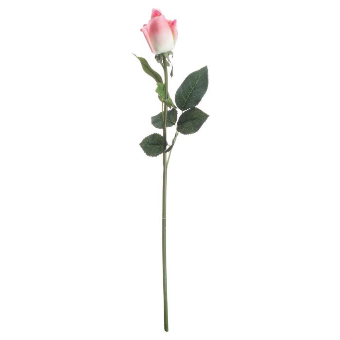 Pink Closed Rose Bud - Cosy Home Interiors