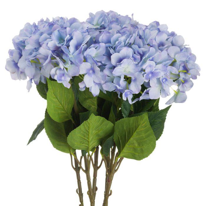 Single Blue Hydrangea - Cosy Home Interiors