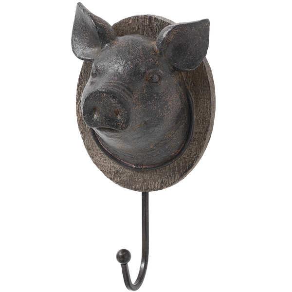 Pigs Head Coat Hook - Cosy Home Interiors