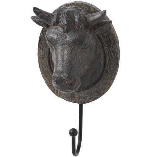 Cow Head Coat Hook - Cosy Home Interiors