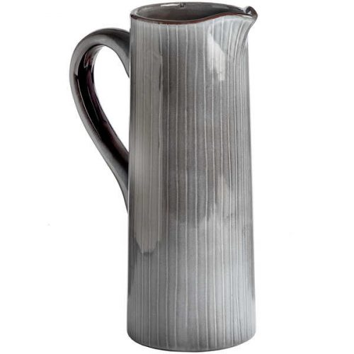 Grey Ceramic Display Jug - Cosy Home Interiors
