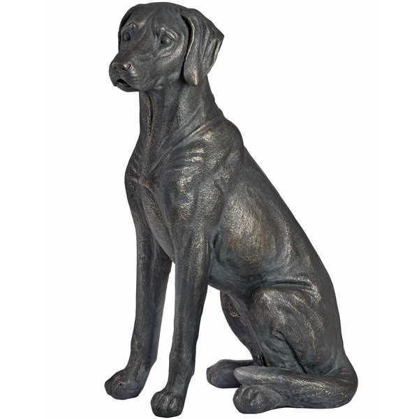 Sitting Labrador Statue - Cosy Home Interiors