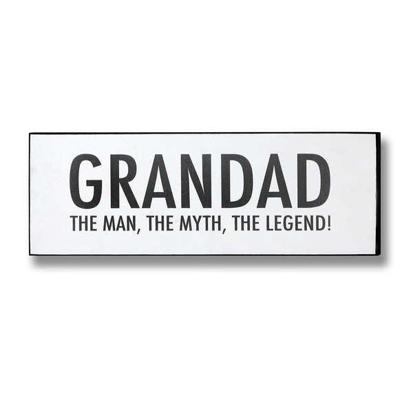 Grandad Plaque - Cosy Home Interiors