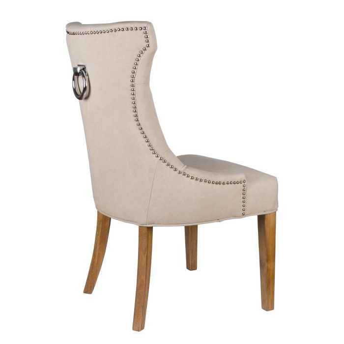 High Wing Ring Backed Dining Chair - Cosy Home Interiors