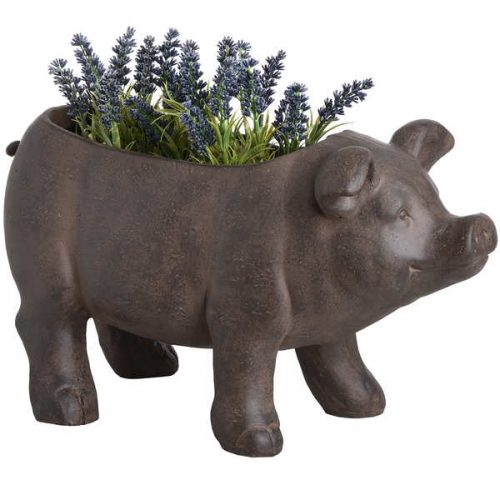 Rustic Pig Planter - Cosy Home Interiors