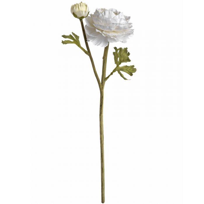 White Ranunculus Spray - Cosy Home Interiors