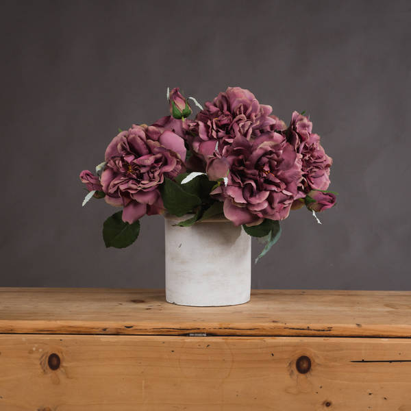Pink Short Stem Fashion Rose - Cosy Home Interiors