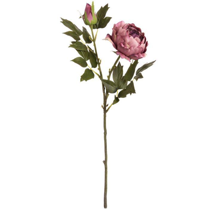 Dusty Pink Spray Rose Peony - Cosy Home Interiors