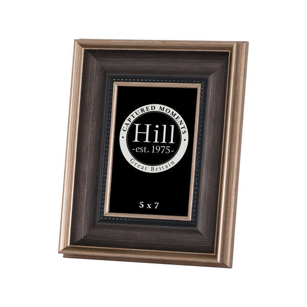 Antique Gold With Black Detail Photo Frame 5X7 - Cosy Home Interiors