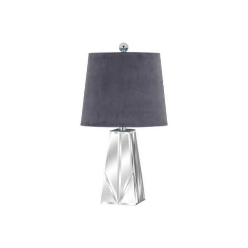 Barnaby Bevelled Mirrored Table Lamp - Cosy Home Interiors