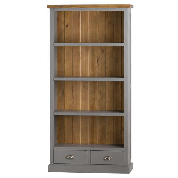 The Byland Collection Two Drawer Bookcase - Cosy Home Interiors