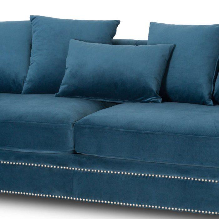 Darcy Three Seater Button Pressed Sofa - Cosy Home Interiors
