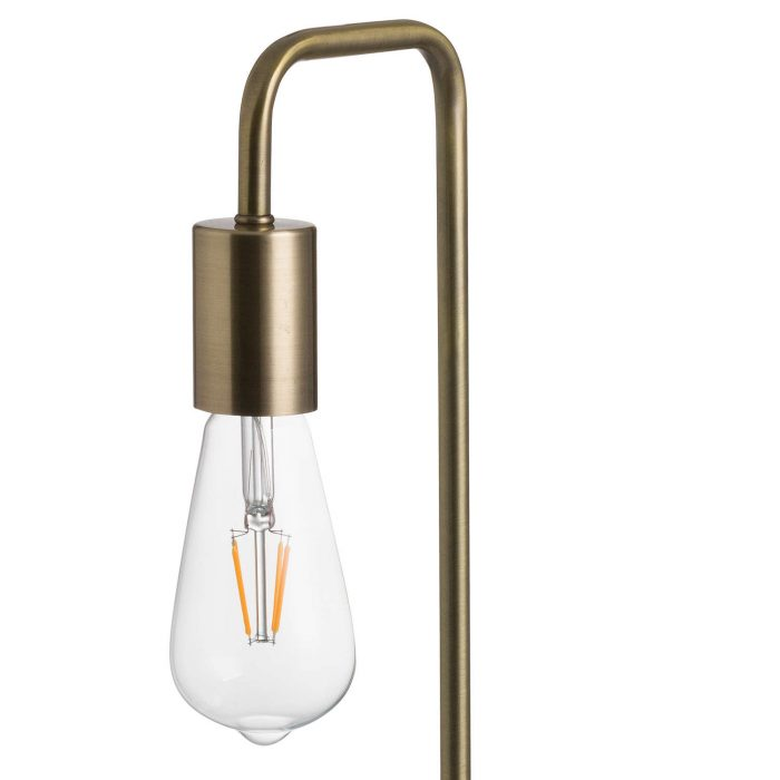 Marble And Brass Industrial Desk Lamp - Cosy Home Interiors