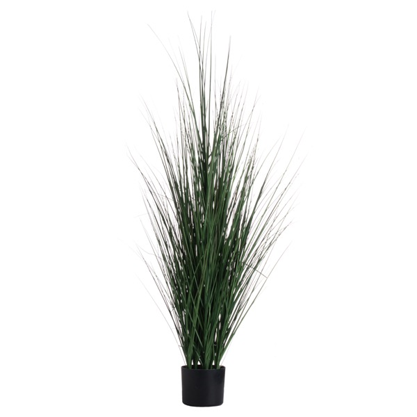 Potted Tall Grass Bush - Cosy Home Interiors
