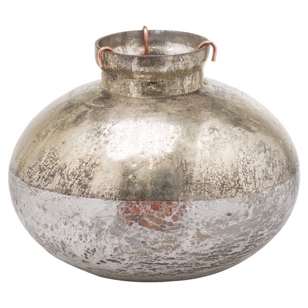 Silverlust Bulbus Candle Holder - Cosy Home Interiors