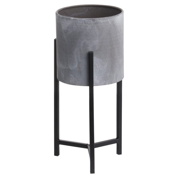 Set Of Two Concrete Table Top Planter - Cosy Home Interiors