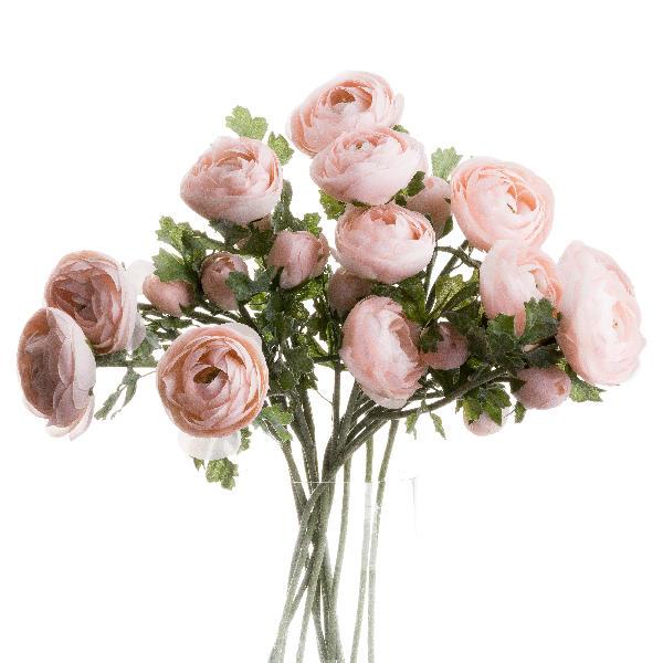 Pastel Pink Ranunculus - Cosy Home Interiors