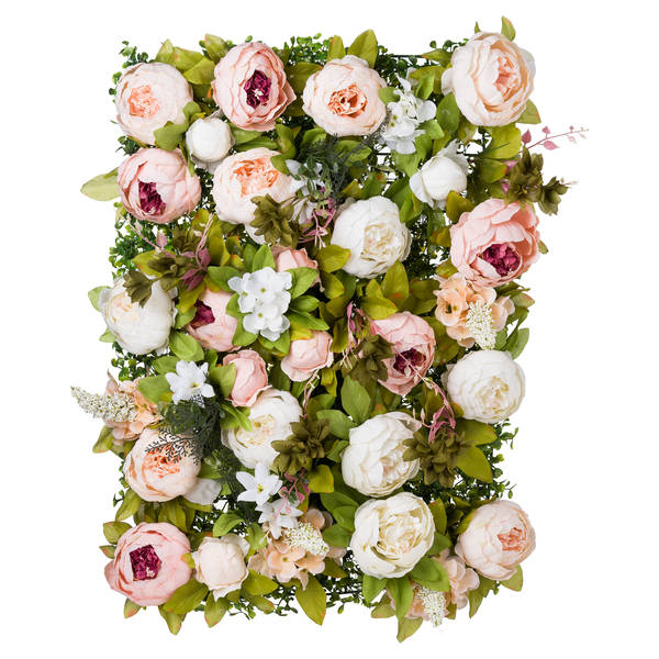 Peony Flower Wall - Cosy Home Interiors