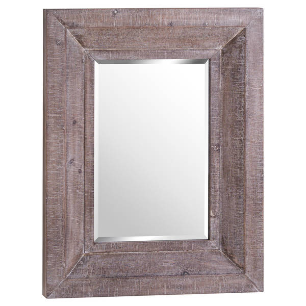 The Wharfedale Reclaimed Wooden Wall Mirror - Cosy Home Interiors