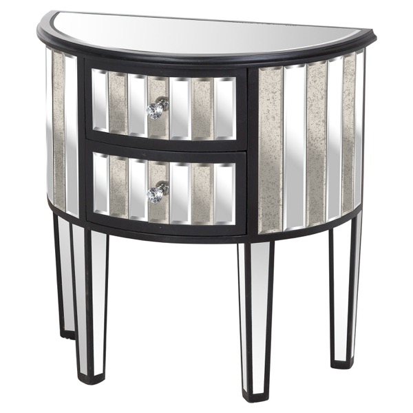 Soho Collection 2 Drawer Side Table - Cosy Home Interiors