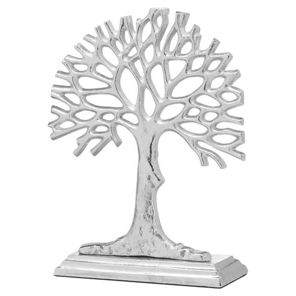 Ohlson Silver Cast Sea Fan Ornament - Cosy Home Interiors