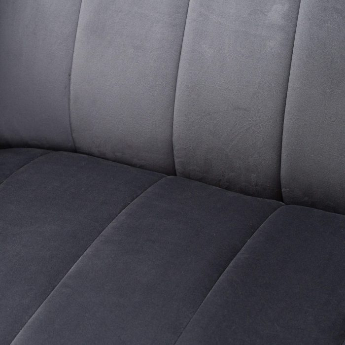 Emperor Grey Velvet Arm Chair - Cosy Home Interiors