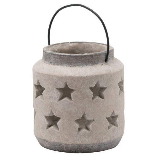 Bloomville Stone Star Lantern - Cosy Home Interiors