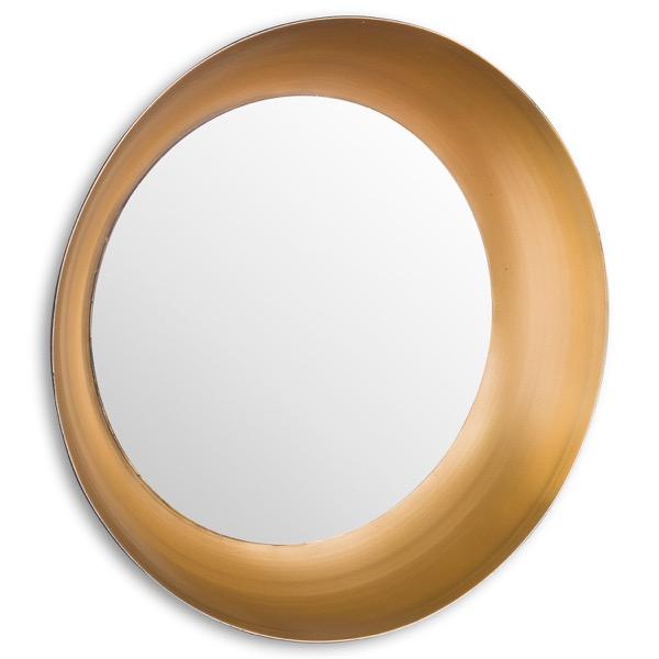 Devant Gold Rimmed Mirror - Cosy Home Interiors