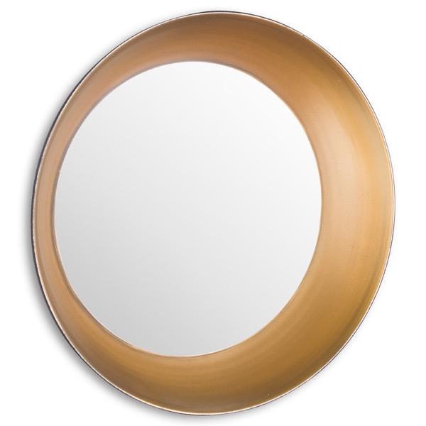 Devant Small Gold Rimmed Mirror - Cosy Home Interiors