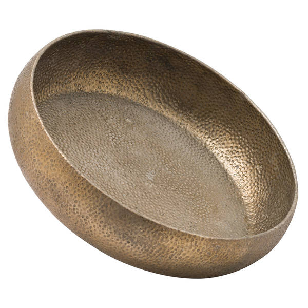 Evi Antique Bronze Display Charger Bowl - Cosy Home Interiors
