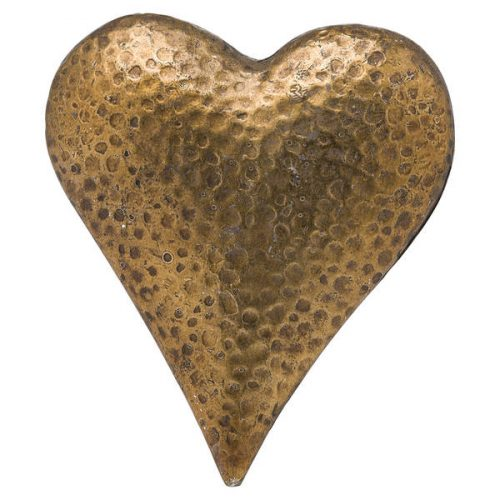 Evi Antique Bronze Heart - Cosy Home Interiors