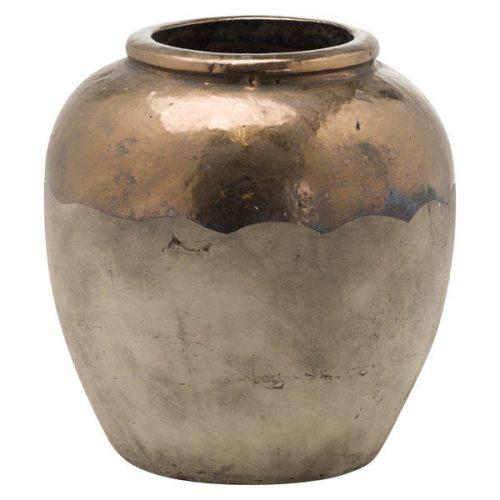 Evi Antique Bronze Large Vase - Cosy Home Interiors