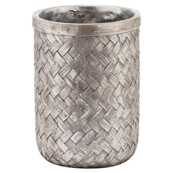 Aspen Woven Effect Medium Vase - Cosy Home Interiors