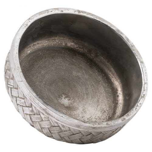 Aspen Woven Effect Large Decorative Bowl - Cosy Home Interiors