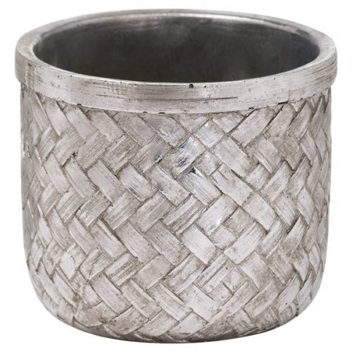 Aspen Woven Effect Large Planter - Cosy Home Interiors
