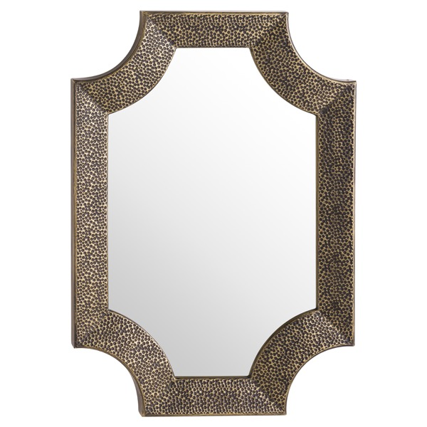 Ages Antique Bronze Detailed Wall Mirror - Cosy Home Interiors