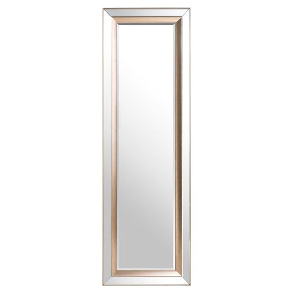 Grand Pilton Mirror With Brass Inlay - Cosy Home Interiors