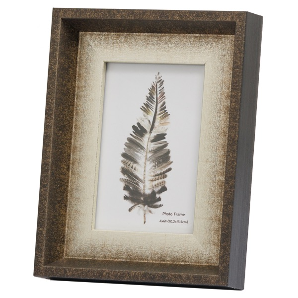Dorchester 4X6 Frame With Silver Inlay - Cosy Home Interiors
