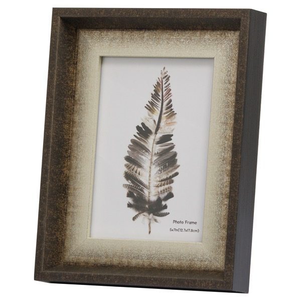 Dorchester 5X7 Frame With Silver Inlay - Cosy Home Interiors