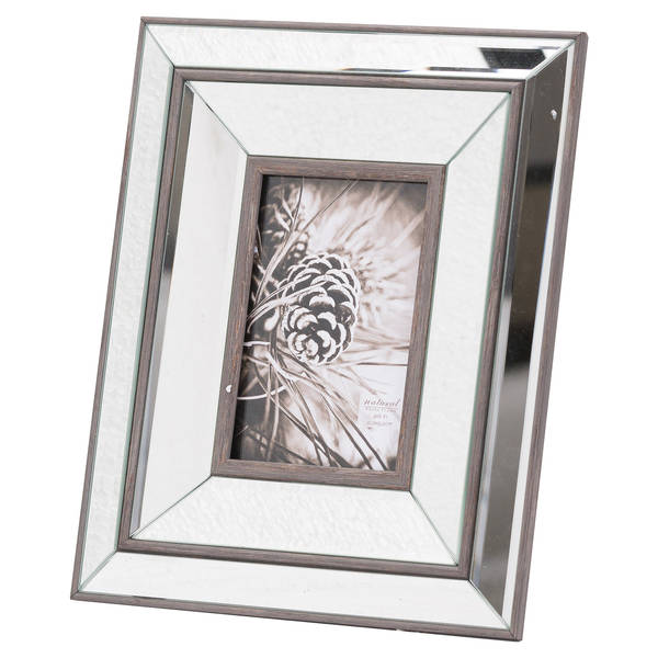 Tristan Mirror And Wood 4X6 Frame - Cosy Home Interiors