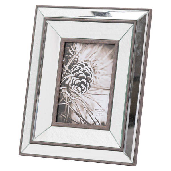 Tristan Mirror And Wood 5X7 Frame - Cosy Home Interiors