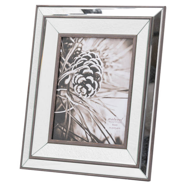 Tristan Mirror And Wood 8X10 Frame - Cosy Home Interiors