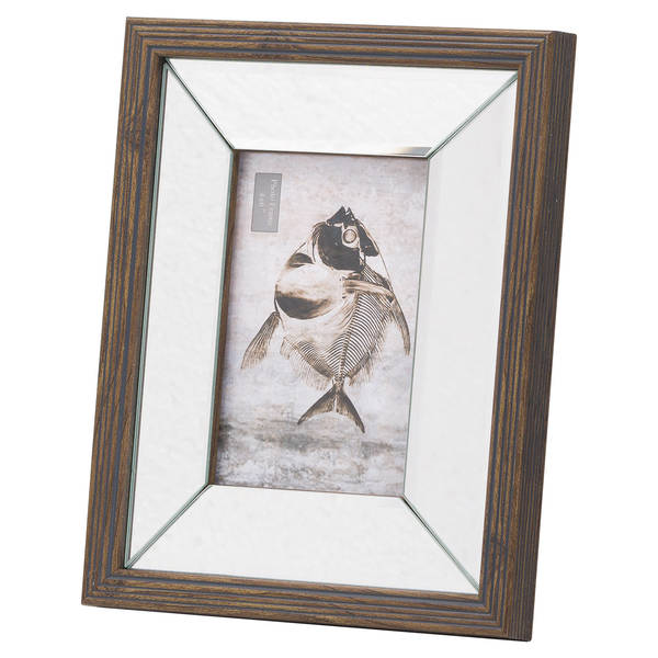 Titan Mirror And Wood 4X6 Frame - Cosy Home Interiors