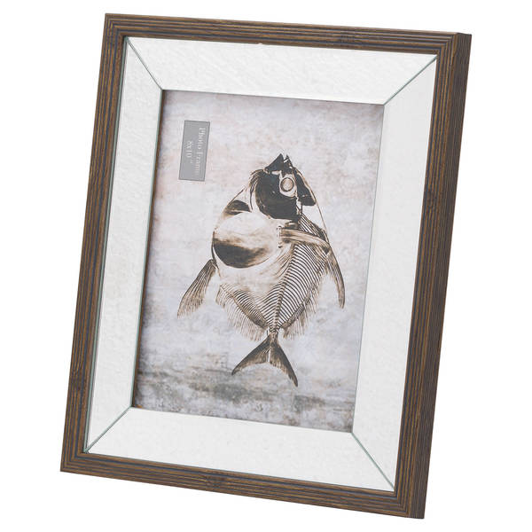 Titan Mirror And Wood 8X10 Frame - Cosy Home Interiors