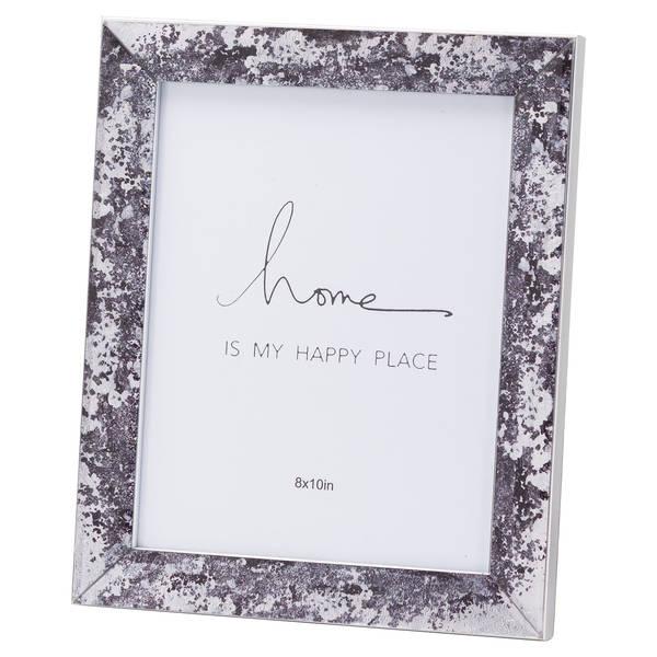 Black Foil Metallic 8X10 Frame - Cosy Home Interiors