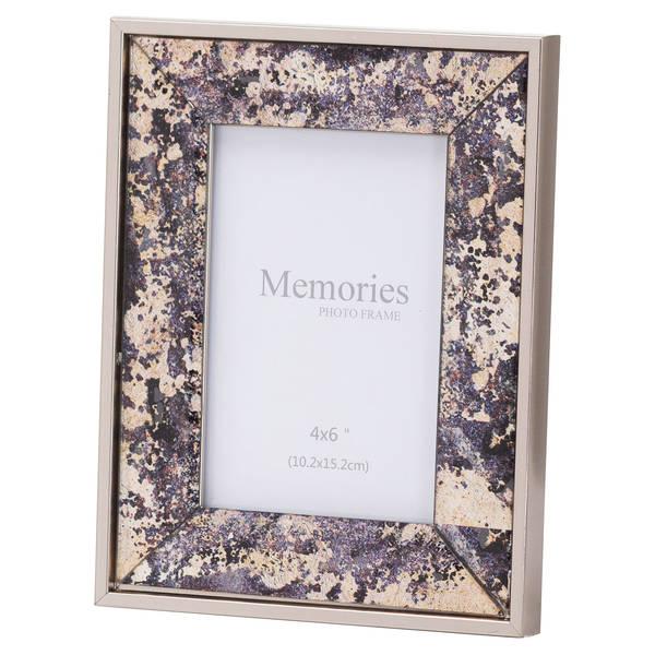 Bronze Foil Metallic 4X6 Frame - Cosy Home Interiors
