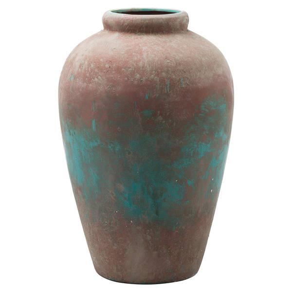 Juniper Large Anitque Tall Vase - Cosy Home Interiors