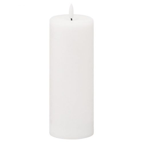 Luxe Collection Natural Glow 3x8 LED White Candle - Cosy Home Interiors