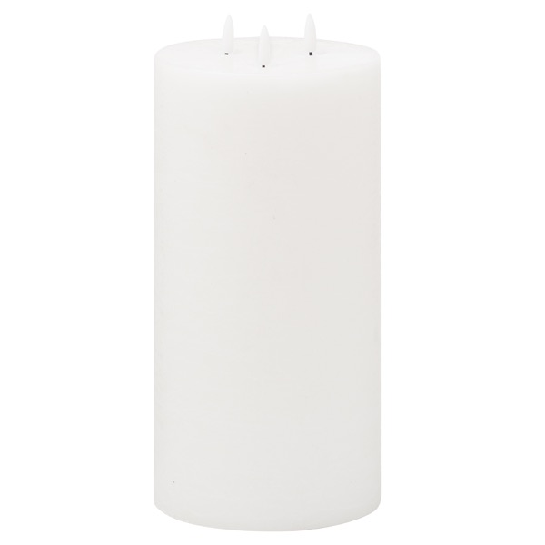 Luxe Collection Natural Glow 6x12 LED White Candle - Cosy Home Interiors